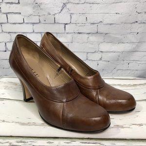 Anyi Lu Women's Brown Heels Size 39 Retail $425